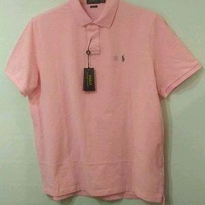 POLO by Ralph Lauren Classic Shirt sz XL PINK. Nwt
